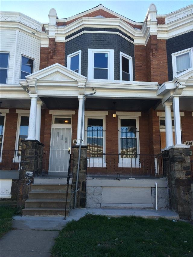 House For Rent In 2037 E 31st St Baltimore Md